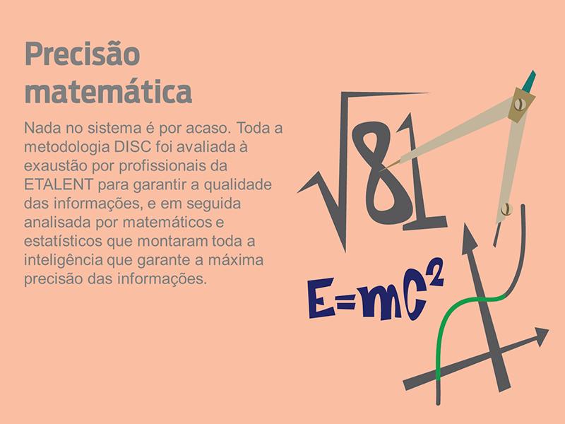 Precisão matemática do DISC